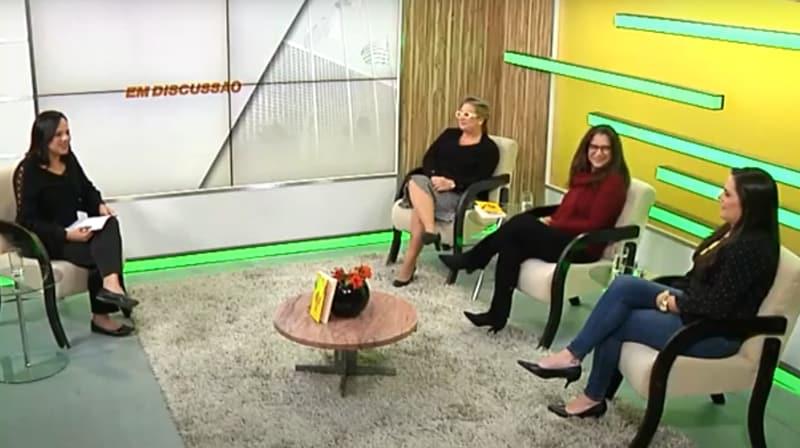 Entrevista no programa Em Discussão